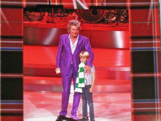 Rod Stewart at the Colosseum in Caesars Palace on Nov. 3, 2011.