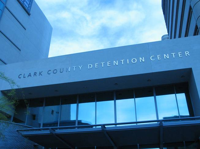 Exterior image of the Clark County Detention Center.