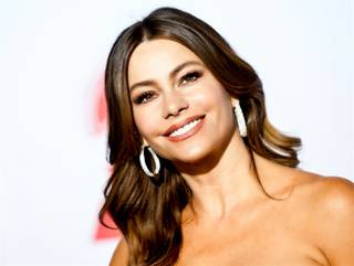 Sofia Vergara arrives at the 2011 Latin Grammy Awards at Mandalay Bay on Nov. 10, 2011.