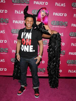 DJ Pauly D at GhostBar DayClub in the Palms on Nov. 12, 2011.