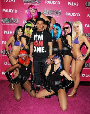 DJ Pauly D at GhostBar DayClub at the Palms