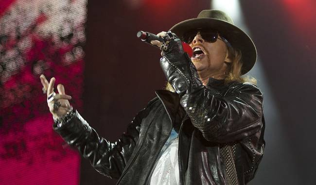 picture of aeg live - Guns N' Roses at the Joint is a lesson in 'risk managment' and understanding ...