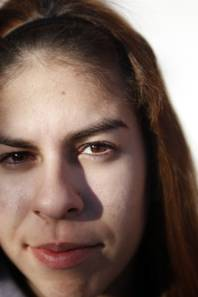 Mireya Briseno, senior at Chaparral High School in Las Vegas Thursday, November 17, 2011.