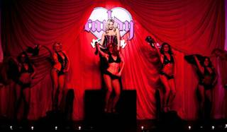 iCandy Burlesque debuts at the Tropicana Las Vegas over the Thanksgiving 2011 weekend.