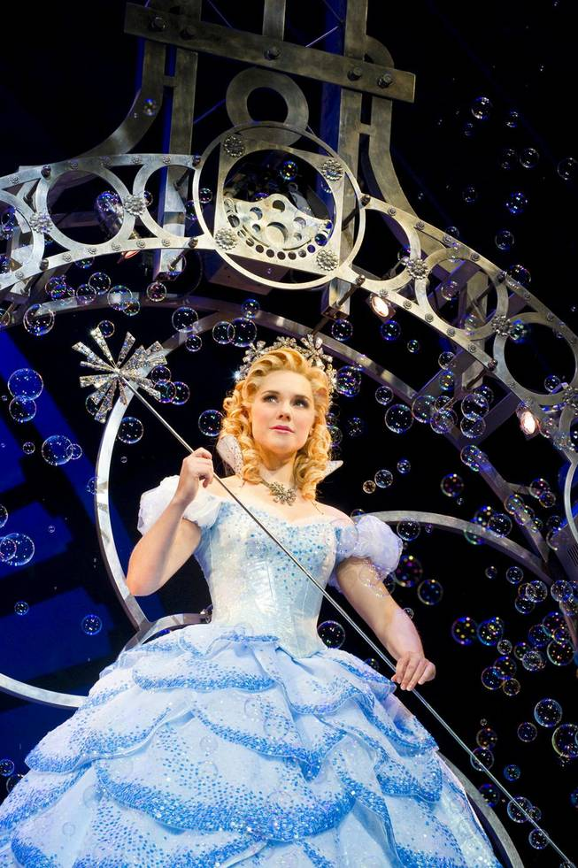 """Wicked"" is part of Broadway Season 3 at The Smith Center for the Performing Arts in downtown Las Vegas. Gina Beck is pictured here as Glinda."