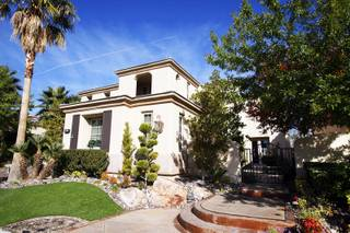 A home for sale at Red Rock Country Club in Summerlin is seen Friday, Nov. 18, 2011.