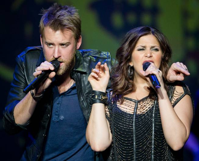 Lady Antebellum at the Joint in the Hard Rock Hotel on Nov. 18, 2011.