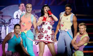 Katy Perry's California Dreams Tour stop at Mandalay Bay Events Center on Nov. 19, 2011.