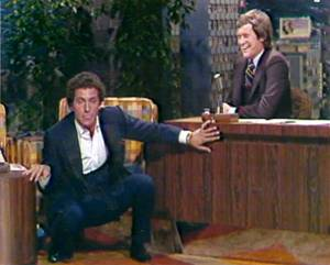 "Bob Anderson on ""The Tonight Show"" with guest host David Letterman."