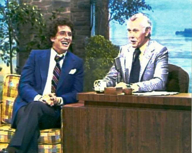 "Bob Anderson on ""The Tonight Show"" with Johnny Carson."