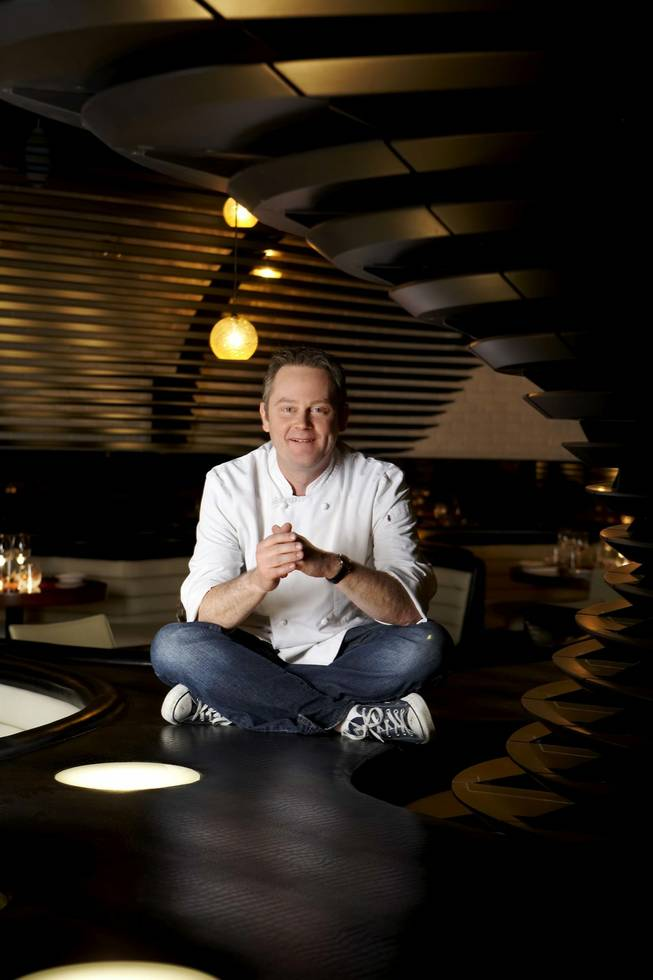 Stephen Hopcraft of STK at the Cosmopolitan.