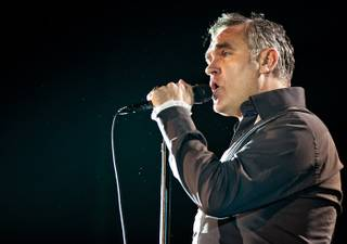 Morrissey performs in the Chelsea at the Cosmopolitan on Nov. 25, 2011.