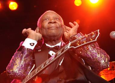 Blues guitar and singer-songwriter legend B.B. King took to the stage at Veil Pavilion at Silverton Casino Lodge the night after Thanksgiving, and ...