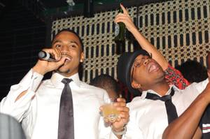 Trey Songz's 27th Birthday at Lavo