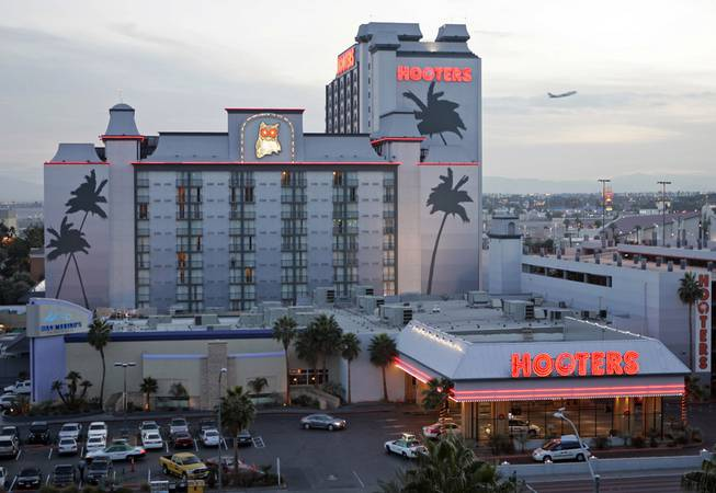 Hooters hotel-casino just off the Las Vegas Strip.