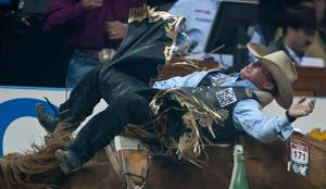 2011 National Finals Rodeo: Night 1