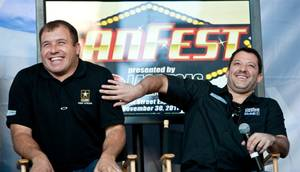 2011 NASCAR Fan Fest and 'Newlywed Game'