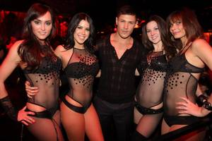 'Twilight' Hunk Alex Meraz at Vanity