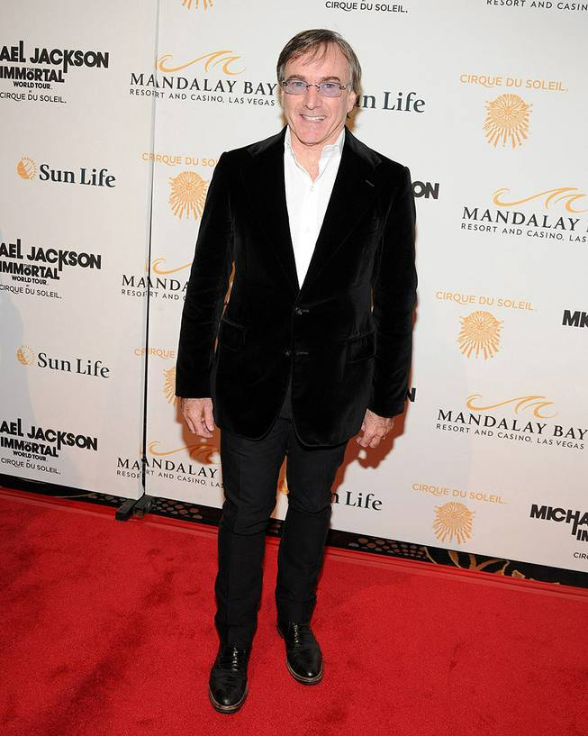 "Daniel Lamarre at the ""Michael Jackson: The Immortal World Tour"" red carpet at Mandalay Bay on Dec. 3, 2011."