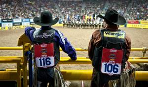 2011 National Finals Rodeo: Night 3