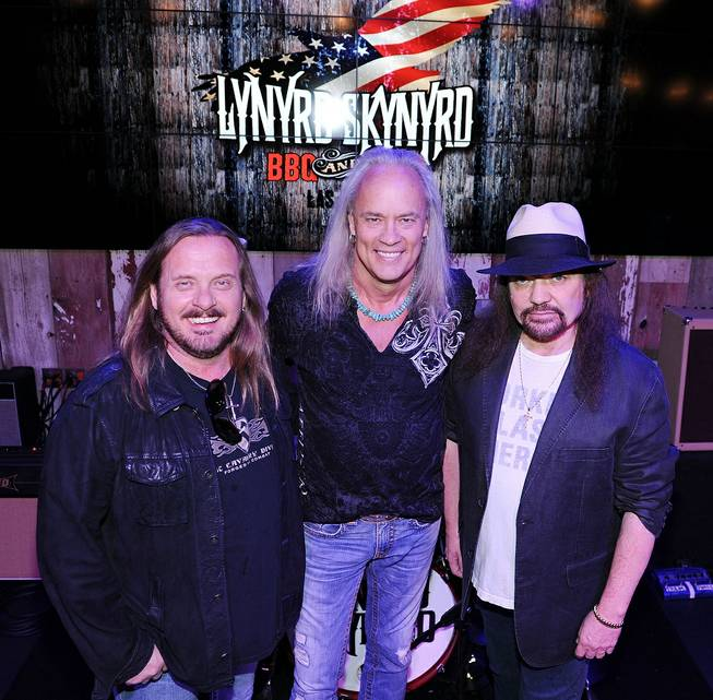 The Lynyrd Skynyrd BBQ & Beer grand opening in the Excalibur on Dec. 8, 2011.