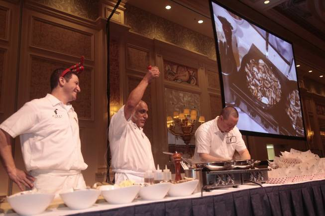 The 2011 Carnival of Cuisine at the Palazzo on Dec. 10, 2011.