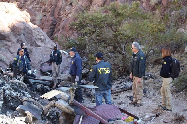 Las Vegas Helicopter Maintenance Error Wreckage