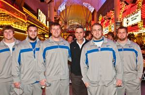Boise State vs. Arizona State at Fremont Street Experience