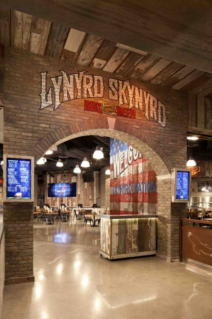 Lynyrd Skynyrd BBQ and Beer at the Excalibur.