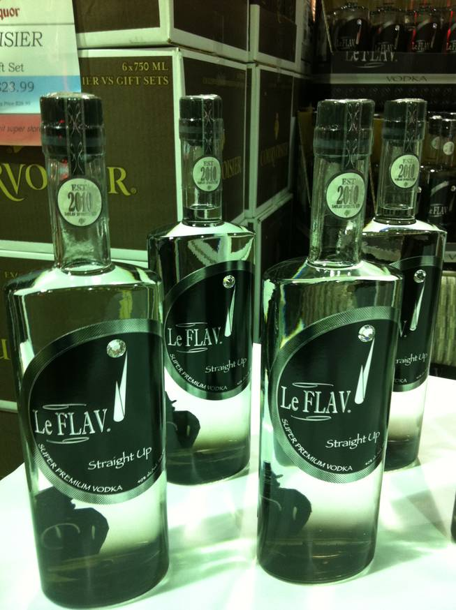 Rapper and reality television star Flavor Flav's signature vodka