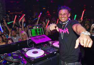 DJ Pauly D at Vanity and 35 Steaks + Martinis