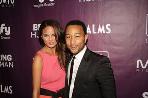 2011 NYE: John Legend and Chrissy Tiegen at the Palms