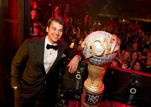2011 NYE: Rob Kardashian at Tryst