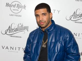 Drake hosts at Vanity in the Hard Rock Hotel on Jan. 1, 2012.