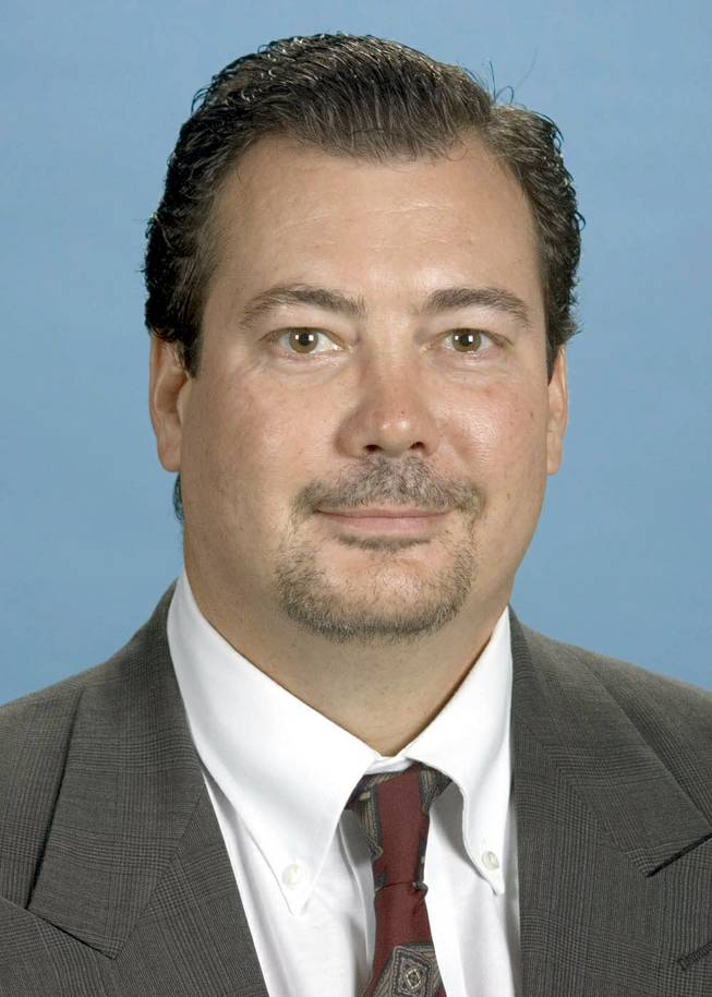 John Bonaventura, shown in 2004 as a candidate for the Clark County Commission.