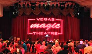 Vegas Magic Theater at the Gold Coast.
