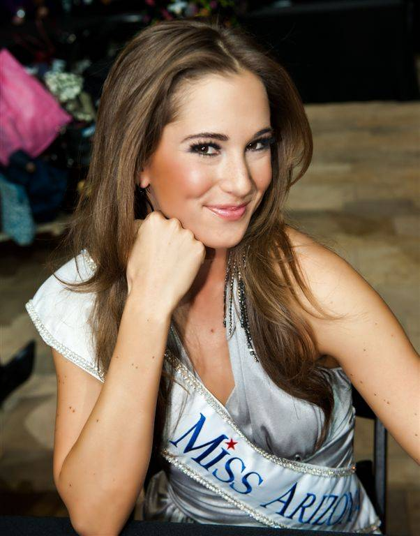 2011 Miss Arizona Jennifer Sedler.