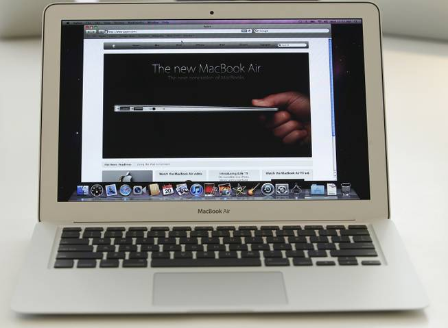 The MacBook Air by Apple.