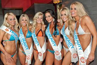 The Tropic Beauty contest at Tabu Ultra Lounge in MGM Grand on Friday, Jan. 13, 2012.