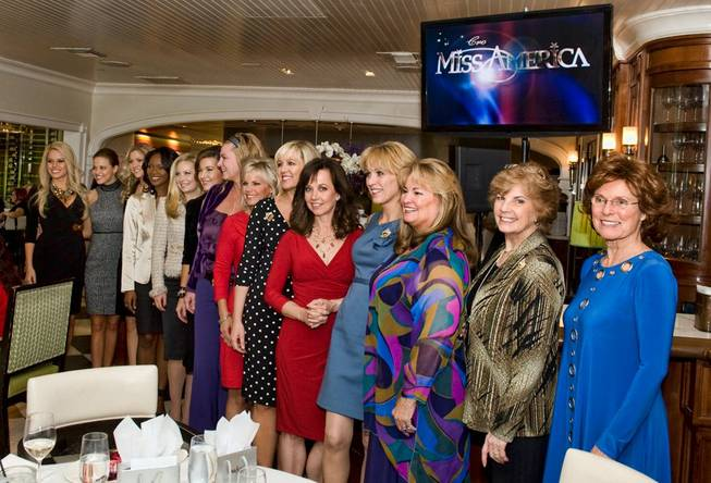 The Miss America reunion luncheon at Vintner Grill in Summerlin on Jan. 12, 2012.