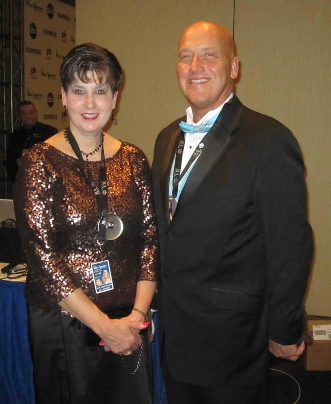 Sue and Jeff Kaeppeler, the parents of 2012 Miss America Laura Kaeppeler, 23, of Wisconsin.