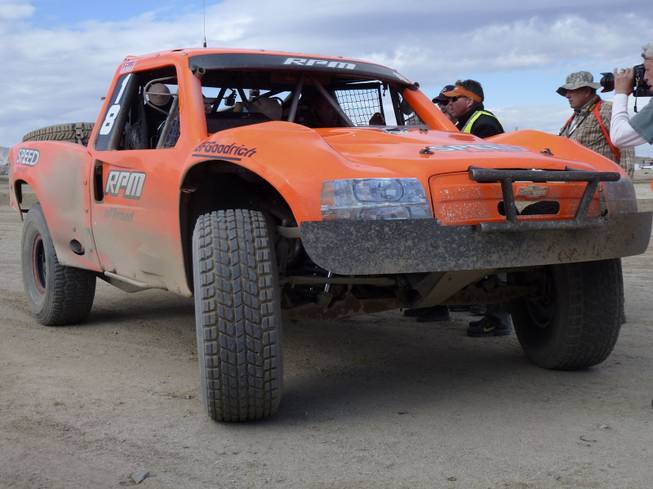 The No. 18 Trophy Truck of Juan Carlos Lopez