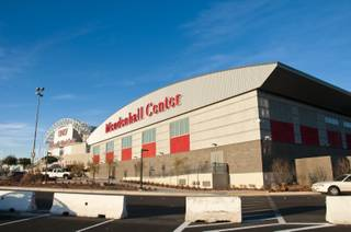A view of the new Mendenhall Center, the Runnin' Rebels' new training facility, on Jan. 17, 2012.