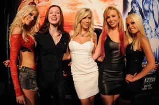The 2012 AVN Adult Entertainment Expo at the Hard Rock Hotel on Wednesday, Jan. 18, 2012.