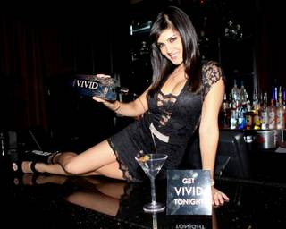 Sunny Leone hosts at Crazy Horse III on Wednesday, Jan. 18, 2012.