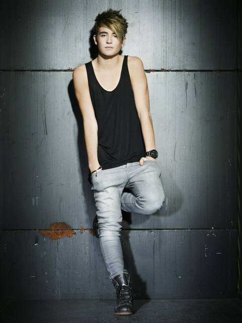 Eighteen-year-old Spanish DJ Danny Avila.