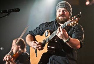 Zac Brown Band at Mandalay Bay Events Center on Friday, Jan. 20, 2012.