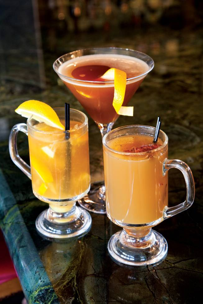 Warm up with one of these three libations available at the Desert Shores eatery.