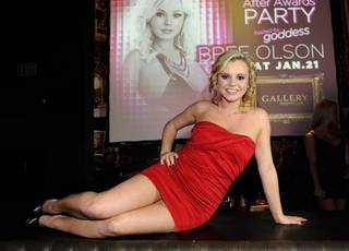 Bree Olson hosts at Gallery in Planet Hollywood on Saturday, Jan. 21, 2012.