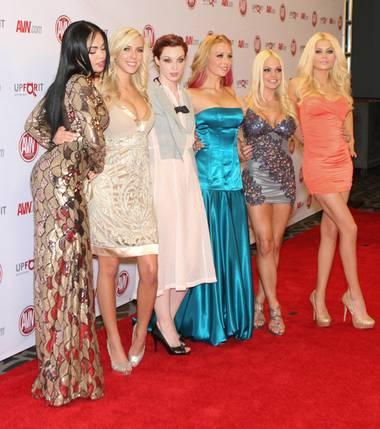Stars at Saturday's AVN Awards red carpet were asked this question: With whom among mainstream stars would you want to perform a scene? Their ...